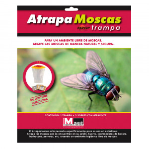 Red-Top Cazamoscas Trampa