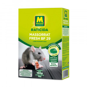 Raticida en pasta Massorrat Fresh BF 29 150 g